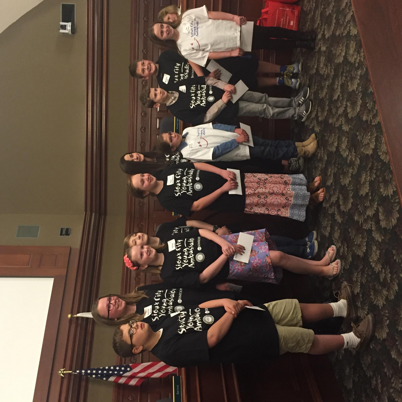 siouxland cares sioux city young ambassadors